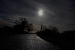 night walk down the fen