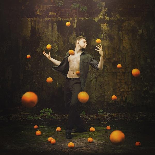 Orange Universe (Dream Series) by Michal_Zahornacky