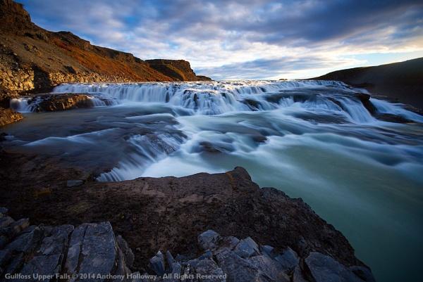 Gullfoss Upper Falls by AntHolloway