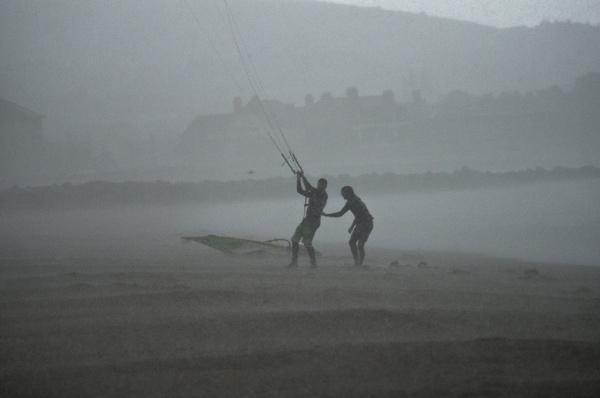 Hail Storm by deskmonkey