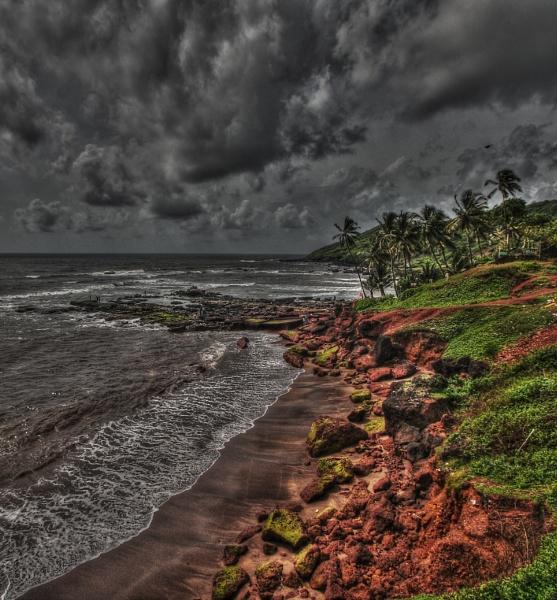 Goa Beach by Abhinow