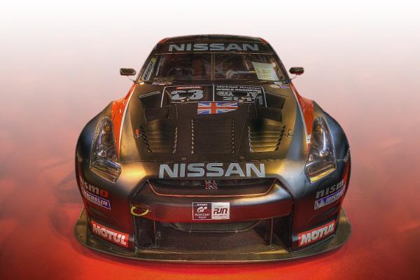 The Nissan GTR35 GT1 by iancatch
