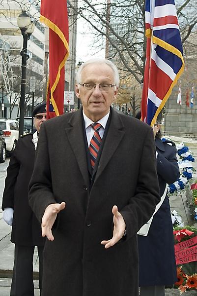 Mayor Bob Bratina of Hamilton, ON (Canada) by TimothyDMorton