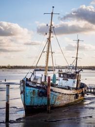 Old Boat at Heybridge