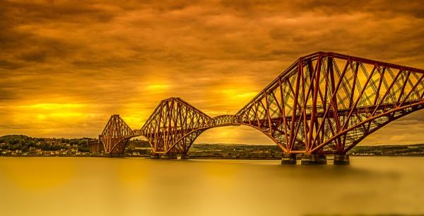 Forth Rail Bridge, South Queensferry, Scotland by WalidD300