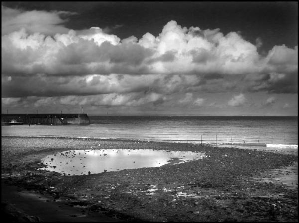 Tidal Pool at Minehead by bwlchmawr