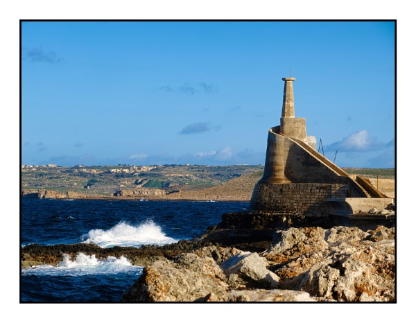Small Lighthouse by alistairfarrugia