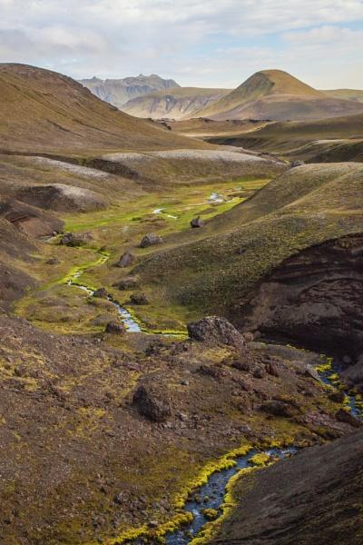Highlands near Mid-Iceland by gleifsson