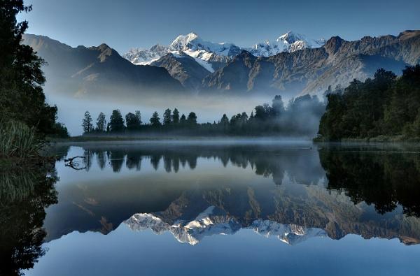 Lake Matheson by perhapsone