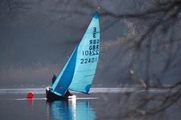 boat on Redditch lake