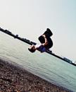 Along the seaside