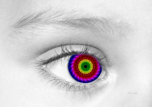Eye Alone 3D by brianjoyce