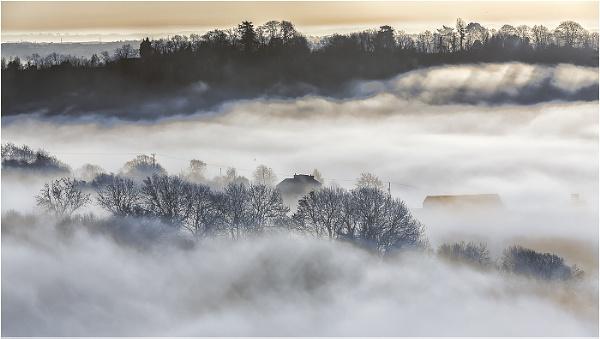 A Misty Morning by Alan_Coles