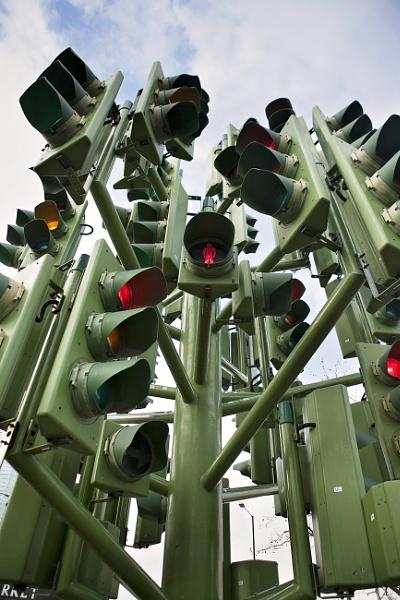 The Traffic Light Tree by LesleyJ