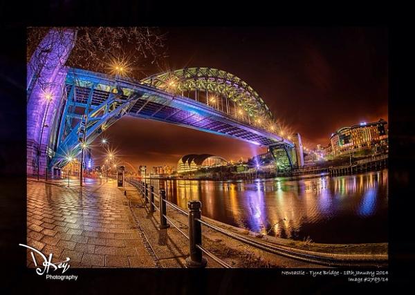 Tyne Bridge, Newcastle by woodyp
