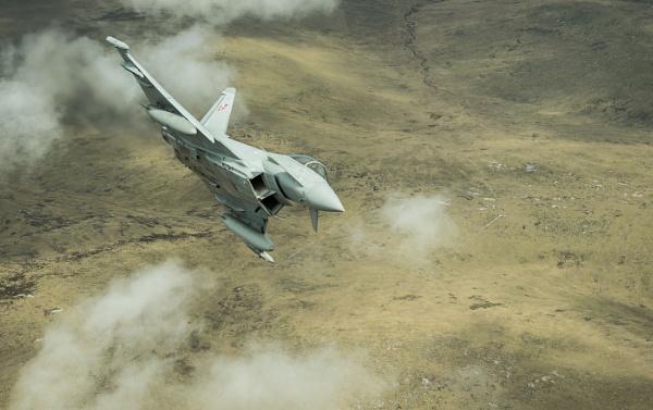 RAF Typhoon by Kim Walton
