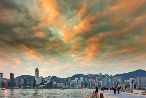 Morning Reaches Hong Kong by Artful_Dodger