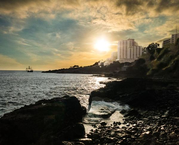 Madeiran coastline by Arjay999