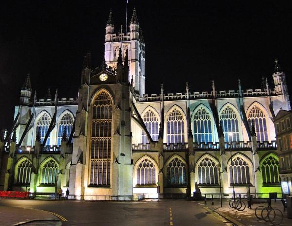 Bath Abbey by lesvictor