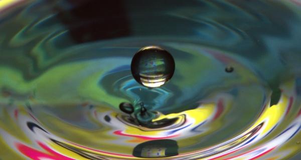 Water Droplet by Kempsfordbiker