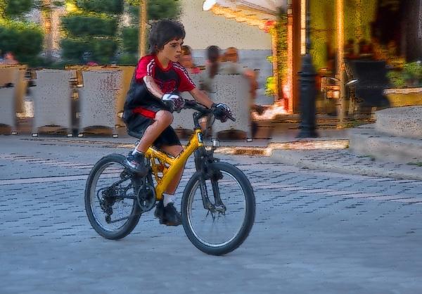 Boy on a Mission by DorisD