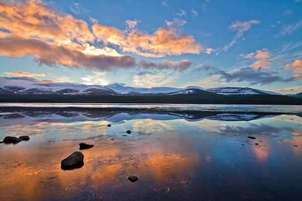 Sunrise over Loch Morlich by JohnoP