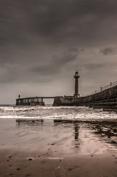 Stormy Whitby by AnnaBanana