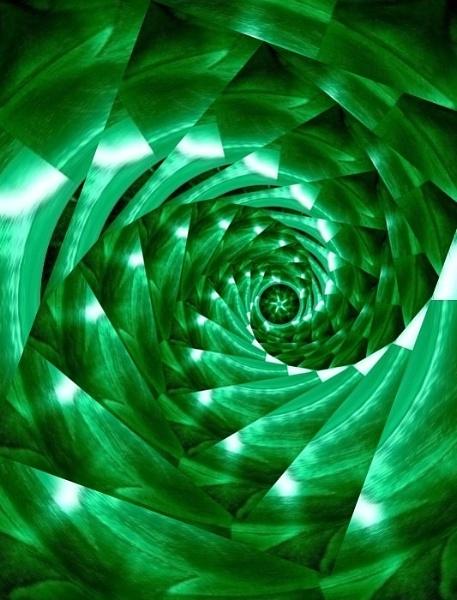 Green Tornado by sakisuki