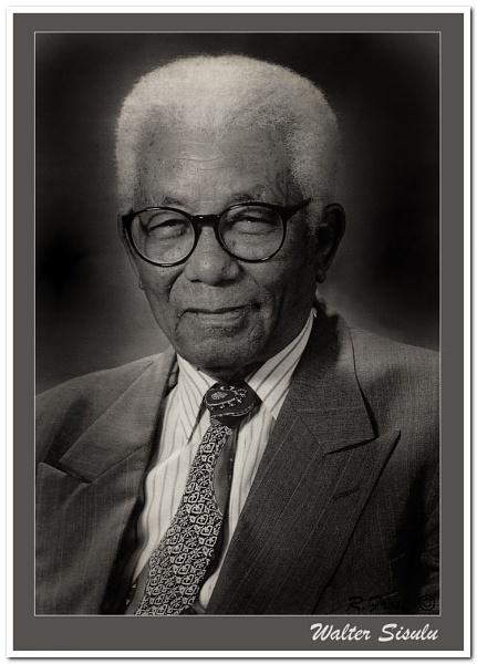 Walter Sisulu by RobertH