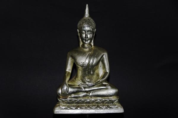 Silver Buddha. by ikett