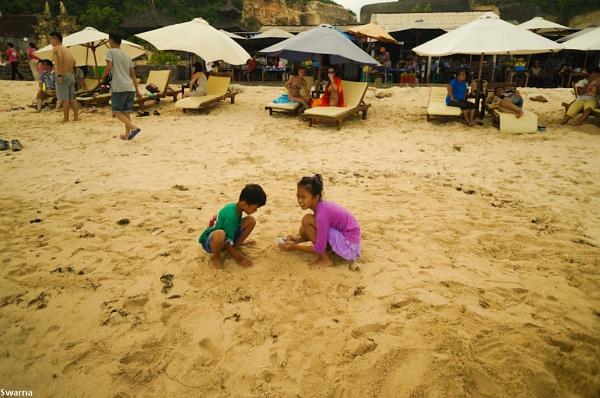 Fun on the Beach - Nusa Dua, Bali Indonesia by Swarnadip