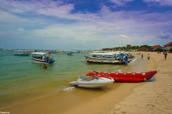 Nusa Dua beach - Bali, Indonesia by Swarnadip