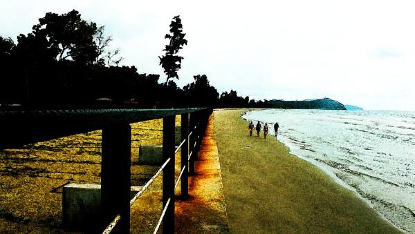 BEACH WALKING by SOUL7