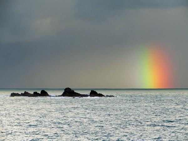 Rainbow dawn by jonny250