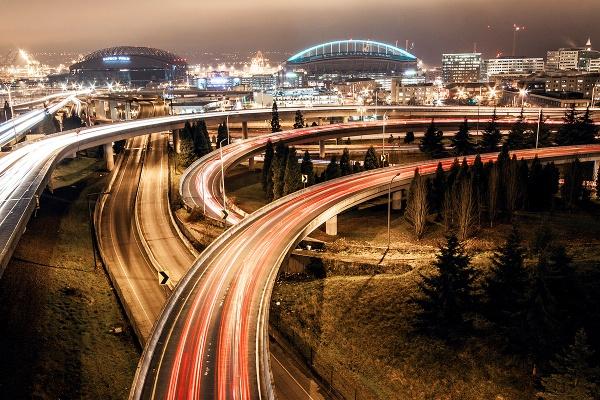 Seattle Trail Lights by guitarman74uk