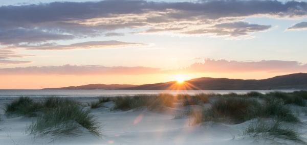 Luskintyre  Beach,Isle of Harris,Scotland by Kim Walton