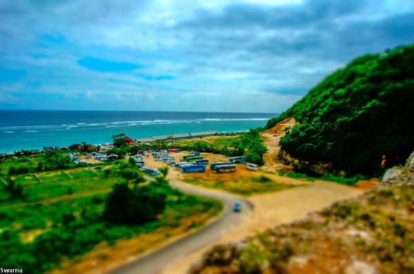 Nusa Dua - Bali, Indonesia by Swarnadip