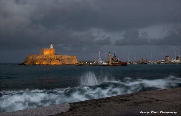 At the harbor by GeorgePlatis