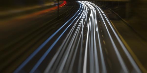M62 Motorway by bobbinio