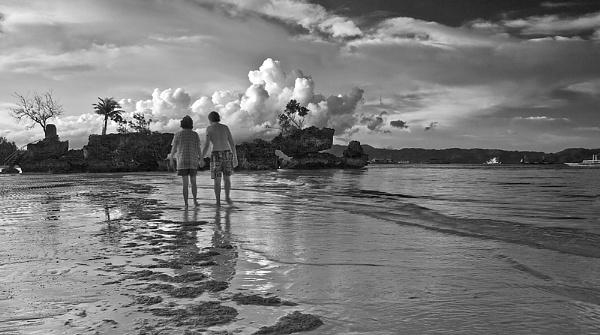 Walk by the Beach by guitarman74uk