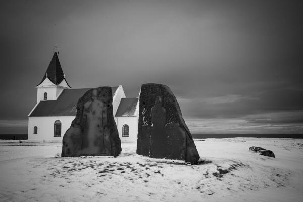 Icelandic Church by adamsa
