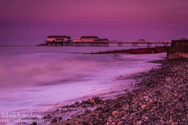 Purple Pier by mlanda