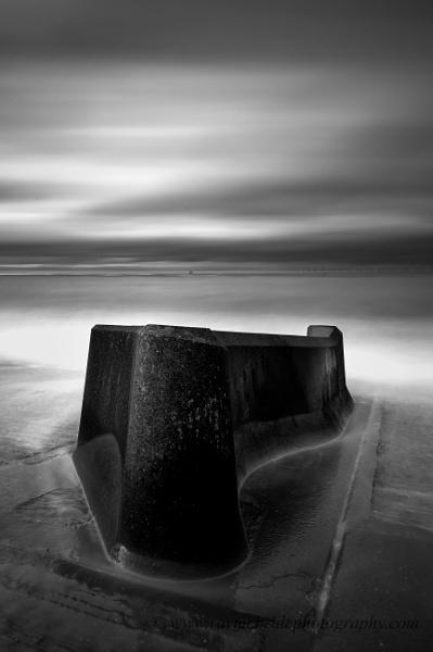 "\""Movement in Mono\"" (Sea Defences North West England) by razorraymac"