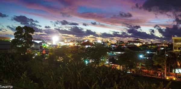 Sunset at Kuta - Bali, Indonesia by Swarnadip