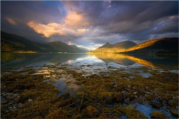 Loch Leven and the Pap by jeanie