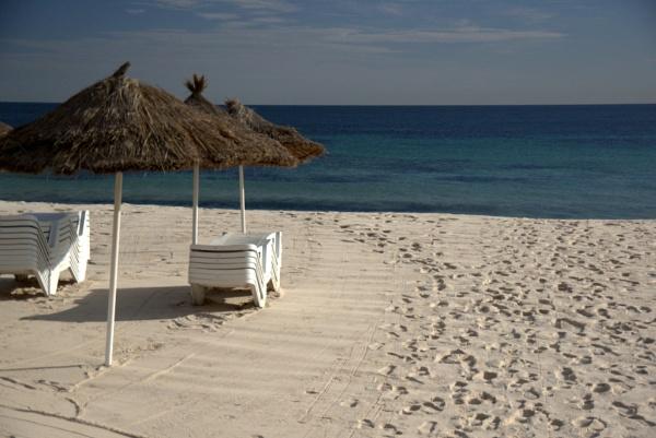 White sand, blue sea, and sunshine! by caj26