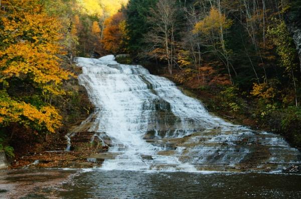 Buttermilk Falls, NY by pshoots