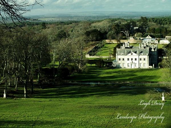 The Splendour Of Tyneham House, Feb 2014. by LDorey