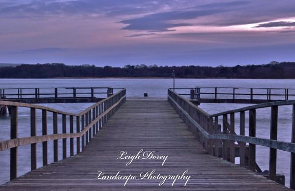 Pier of last light by LDorey