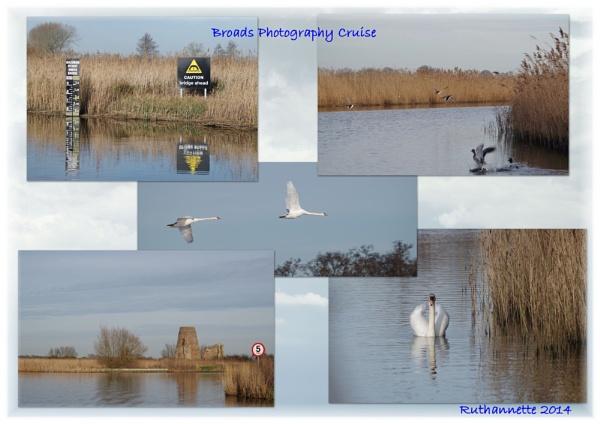 Norfolk Broads by Ruthannette